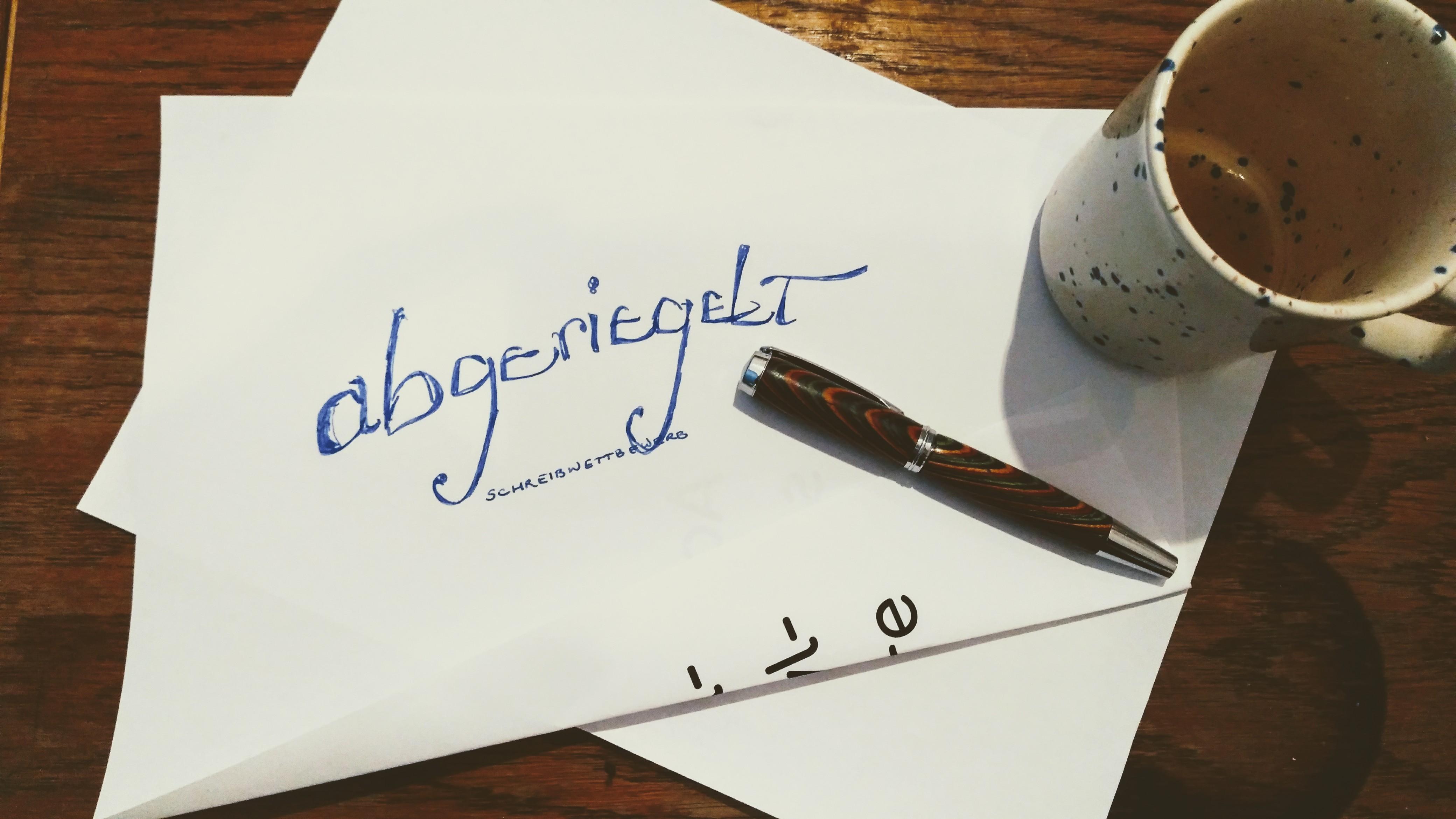"""Schreibwettbewerb """"Abgeriegelt"""" der Kiezpoeten"""