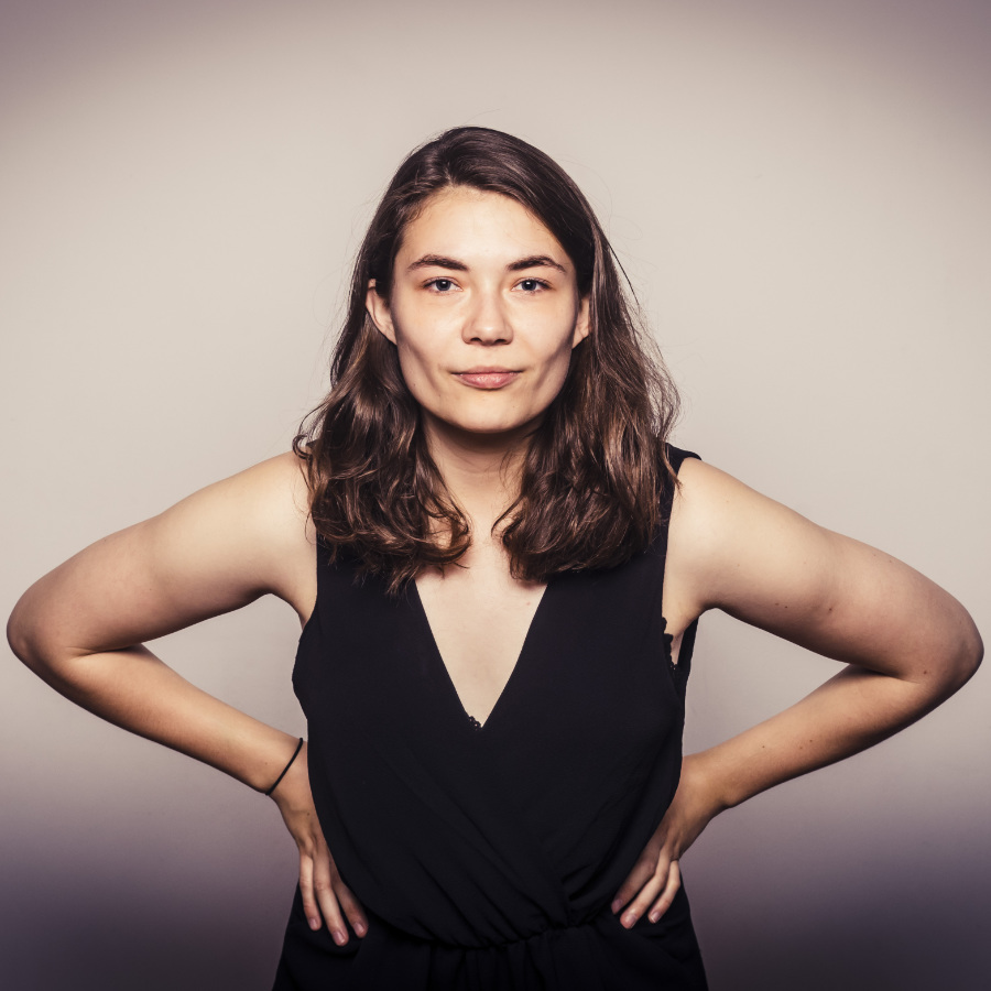 Alina Sprenger Poetry Slammerin