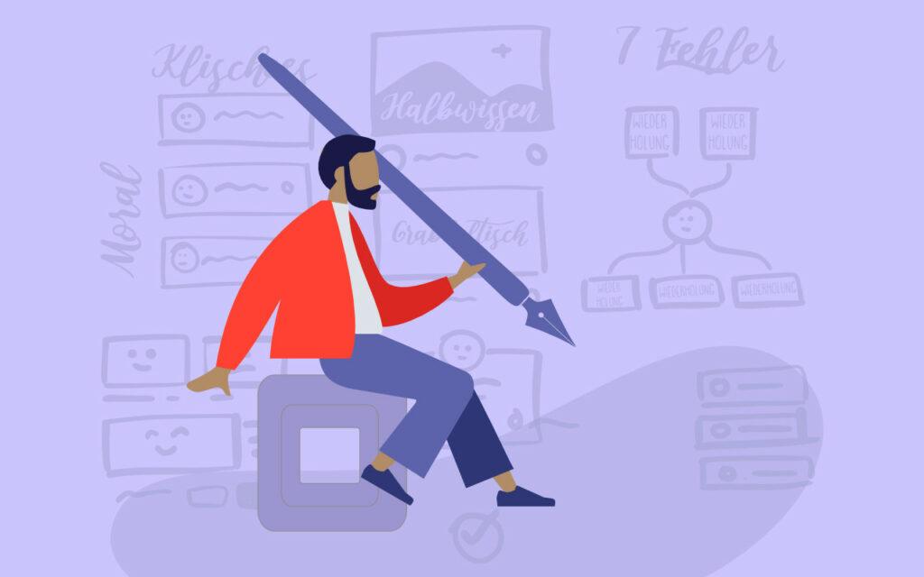 Kreatives Schreiben lernen: Vermeide diese Fehler!