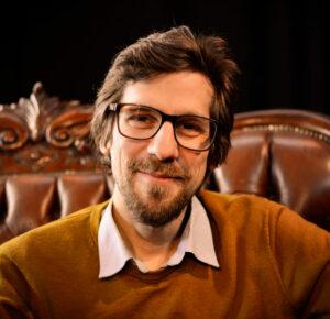 Jesko Habert, Poetry Slam-Veranstalter und Autor, Kiezpoeten. (c) Lisa Meyer