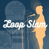 loop slam poetry plus loopstation DJ in Berlin